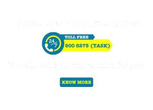 800 8275(Task)-Toll Free-TaskMasters Dubai