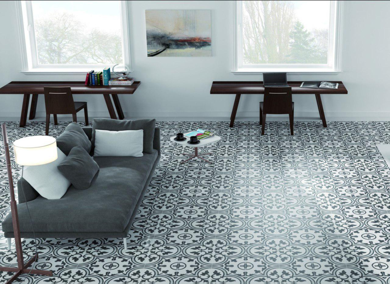 floor tiles with beautiful pattern - Taskmasters Dubai