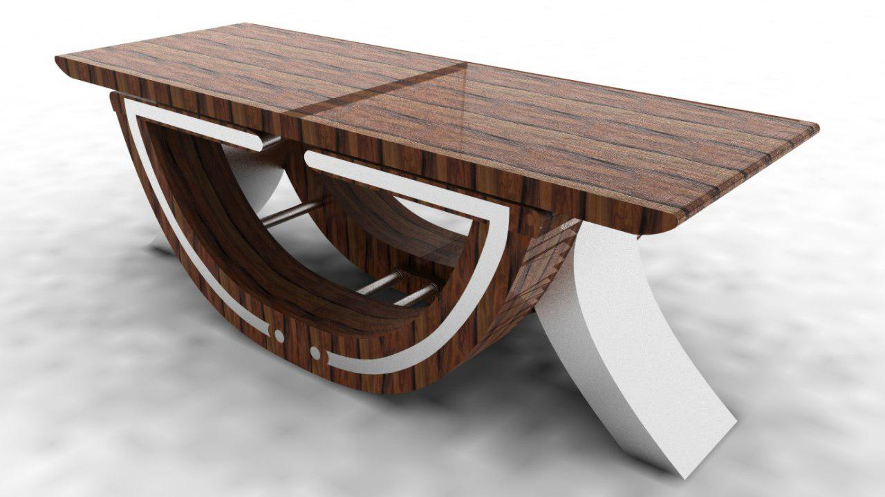 wooden coffee table - Taskmasters Dubai