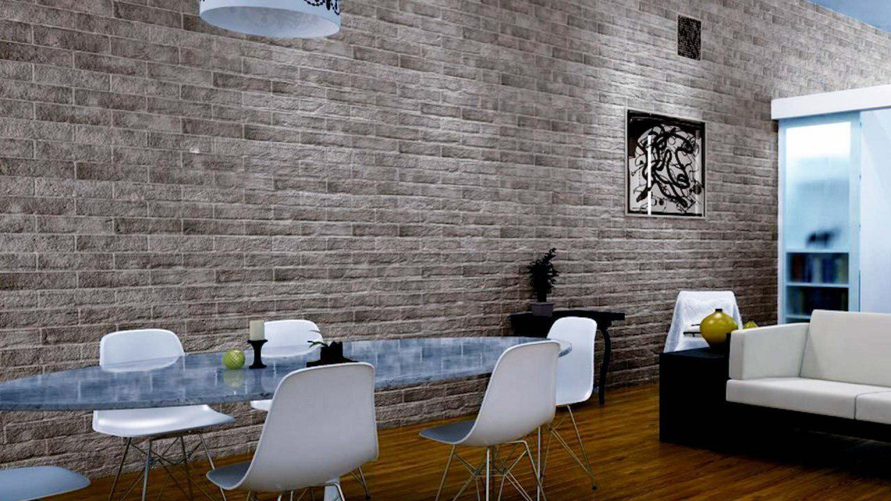 Brick tiles on wall - Taskmasters Dubai