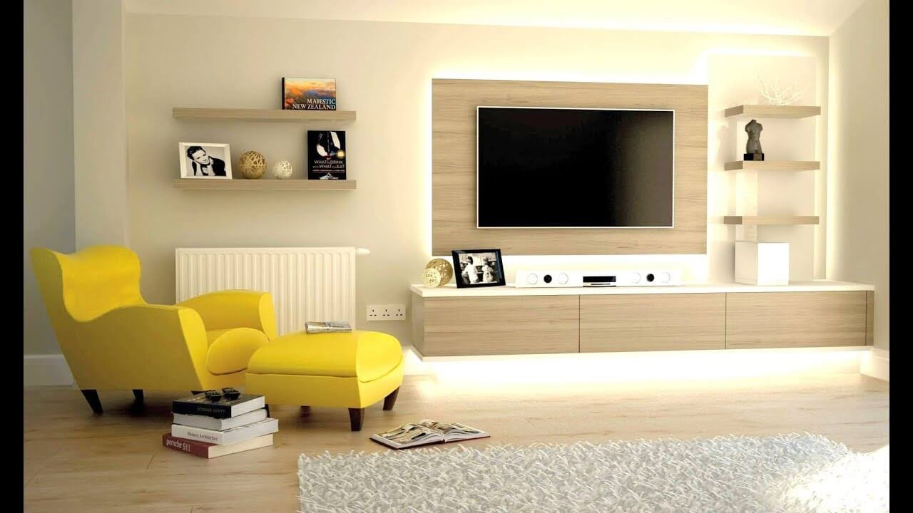 Living room with TV focal point - Task Masters