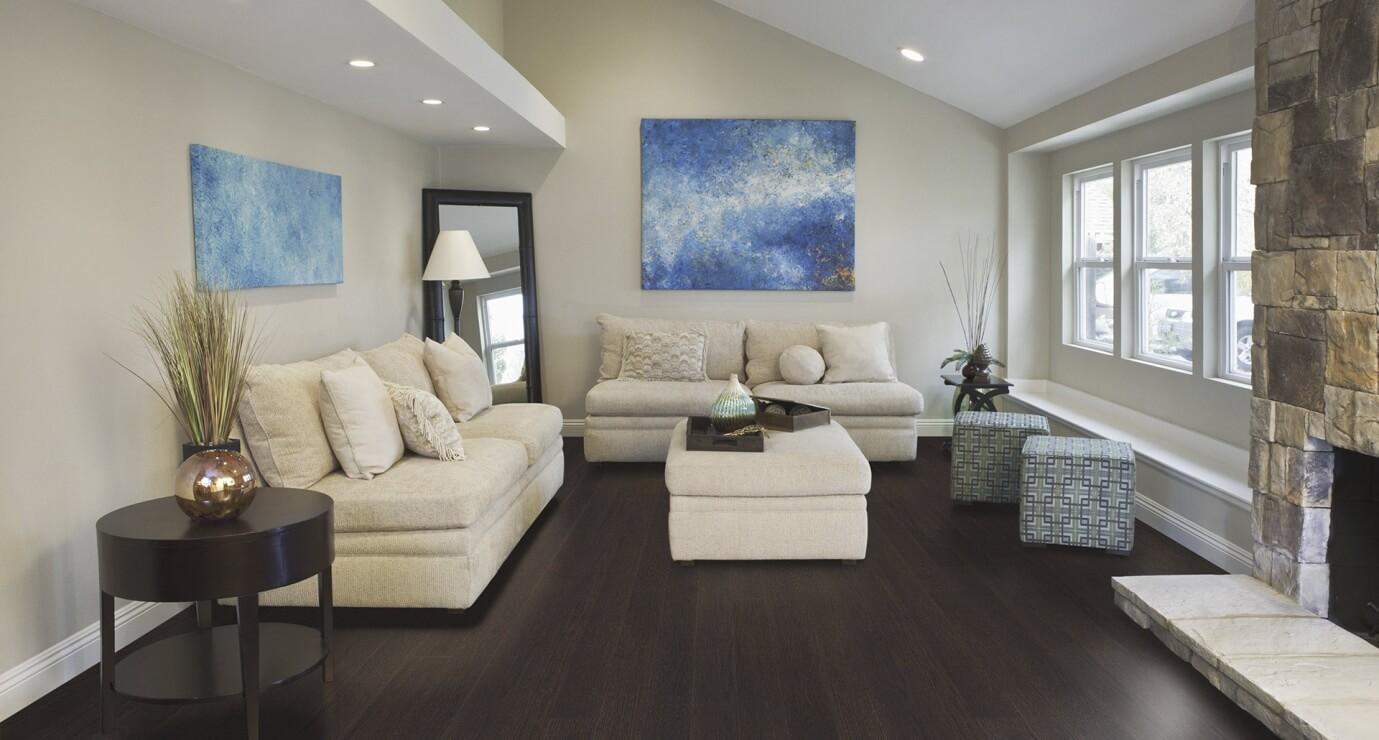 wooden floor in living room - Task Masters