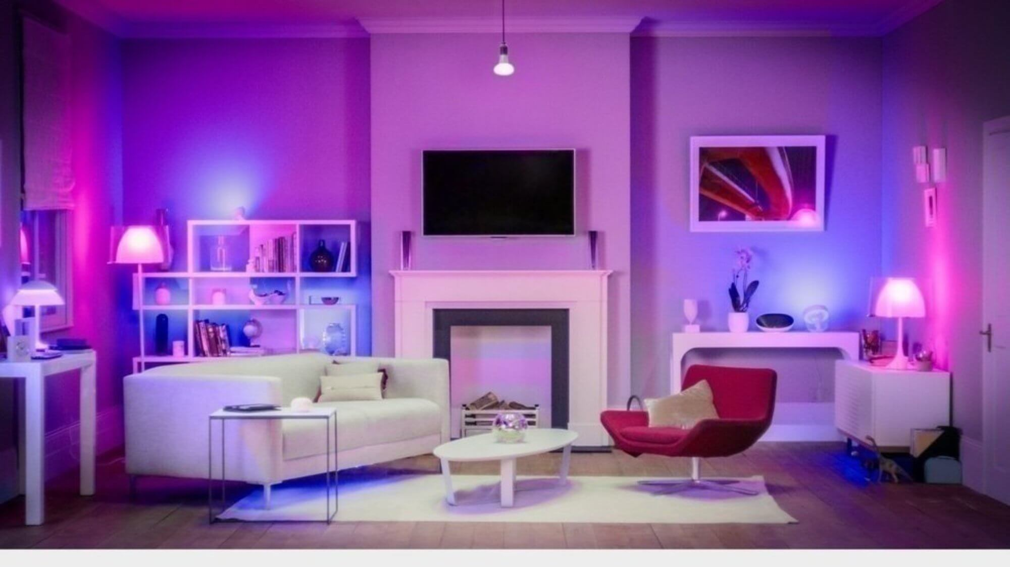 beautiful lightning in living room - Task Masters