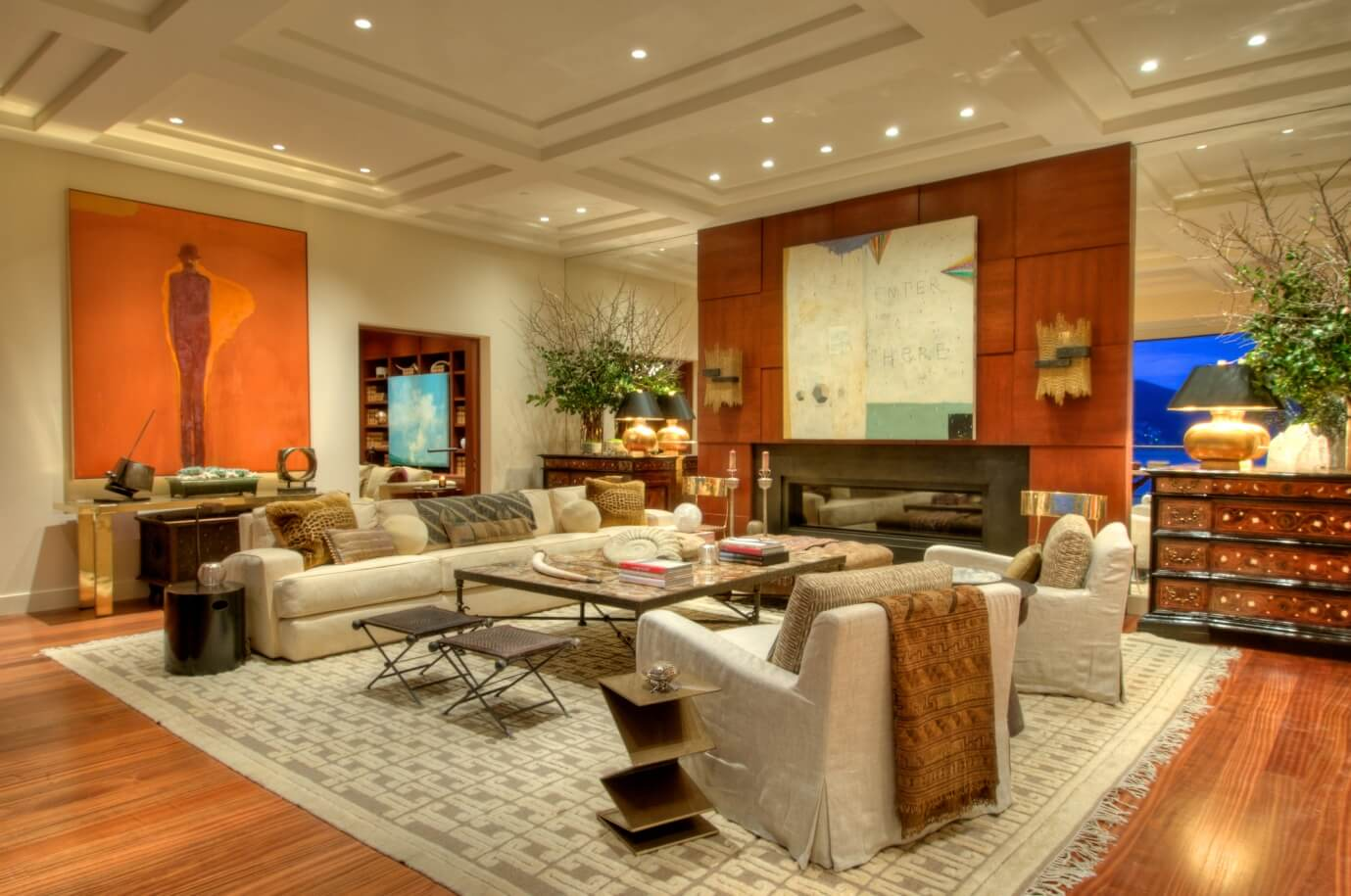 Living room with more space - Task Masters Dubai