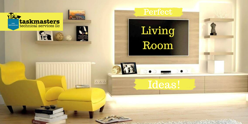 Living room renovation Ideas by Task Masters, Dubai
