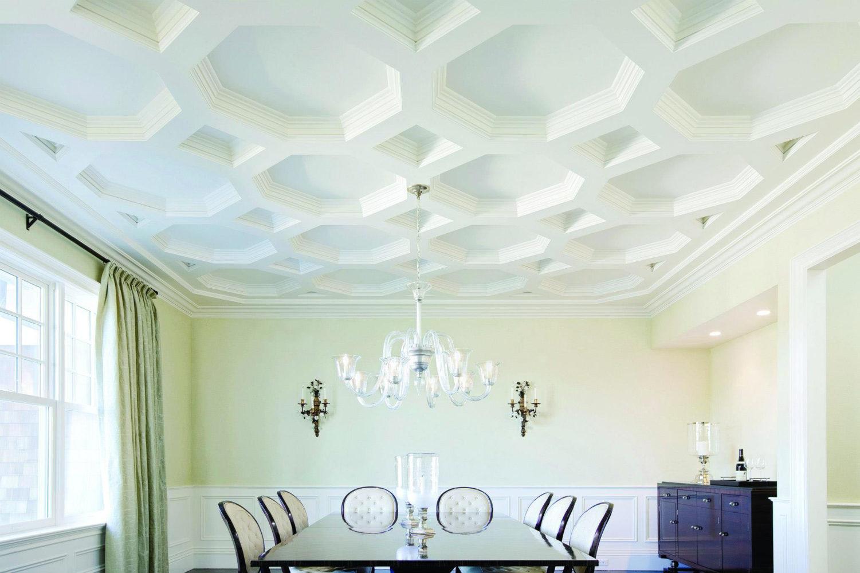 octagonal ceiling structure - Taskmasters Dubai