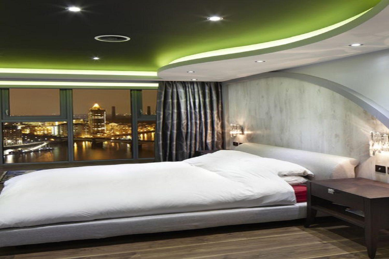 Curved ceiling design - Taskmasters Dubai