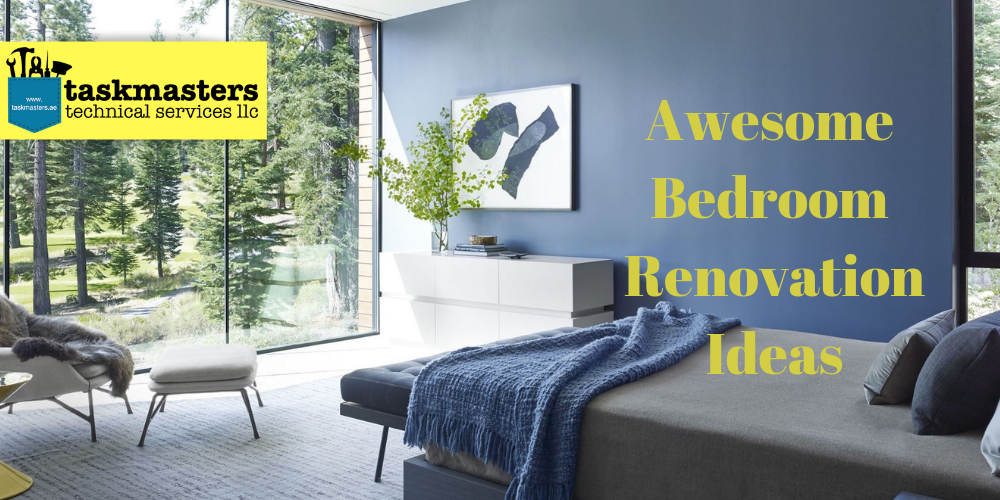 Bedroom renovation Ideas compiled by taskmasters