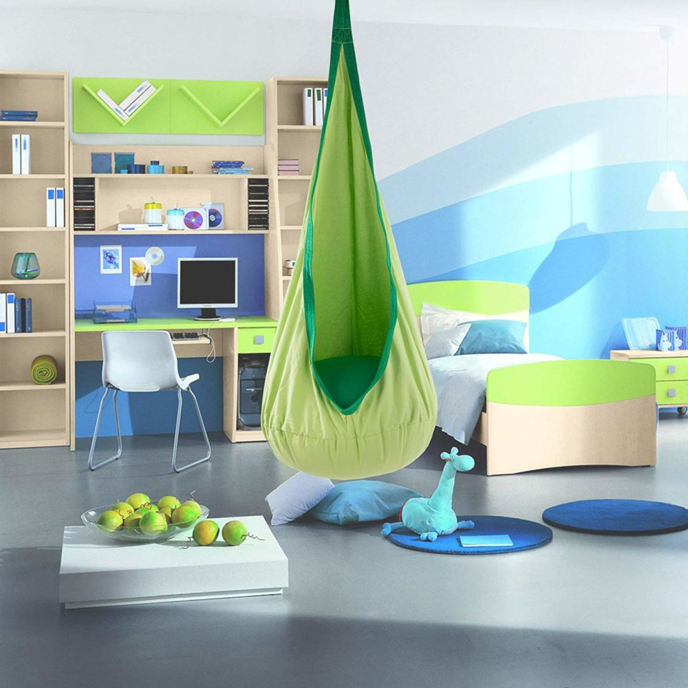 Hanging chair in toddler room - Taskmasters Dubai