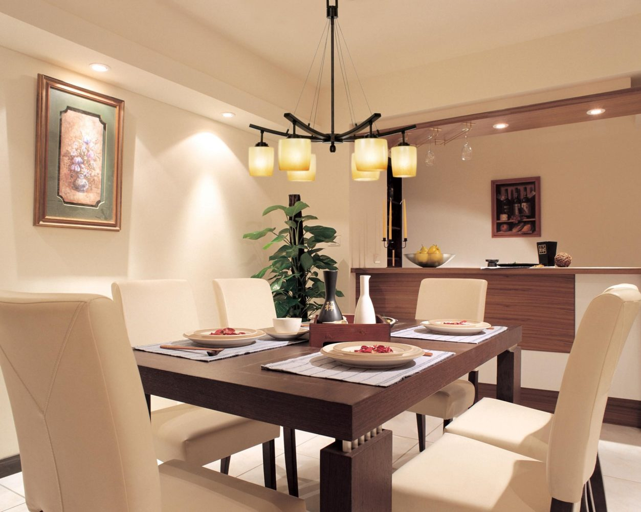 Lights in dining room - Taskmasters