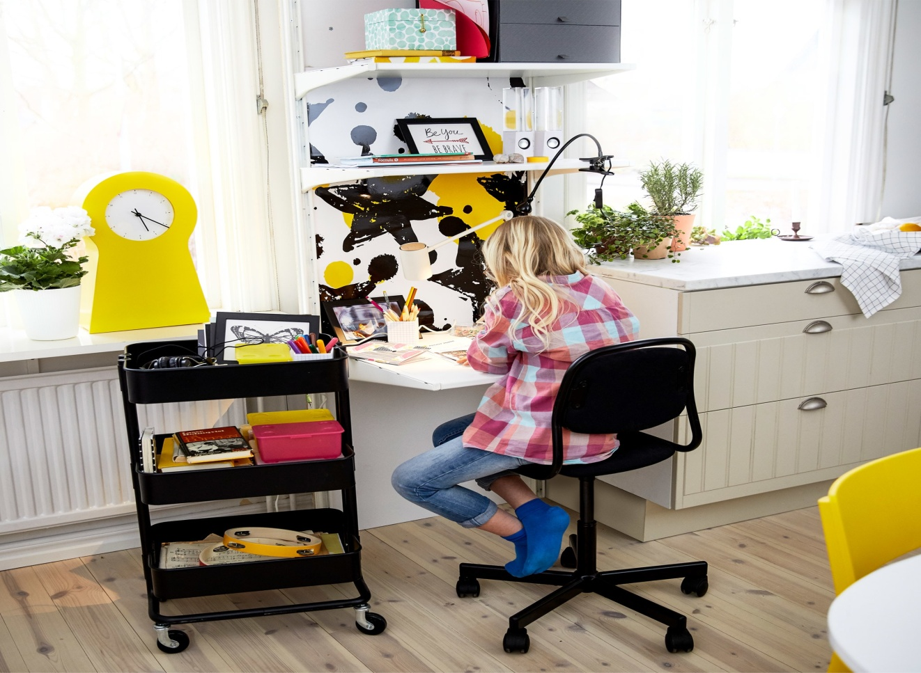 Study space in kids' room - Taskmasters Dubai
