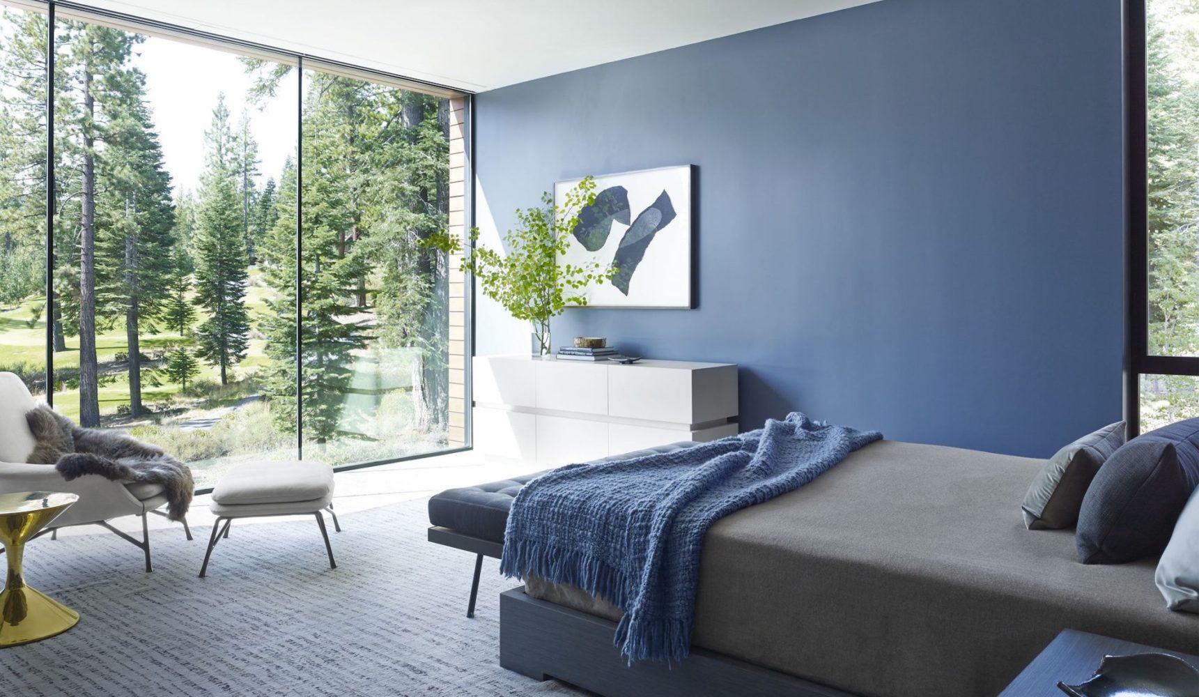 Blue bedroom renovation - Taskmasters