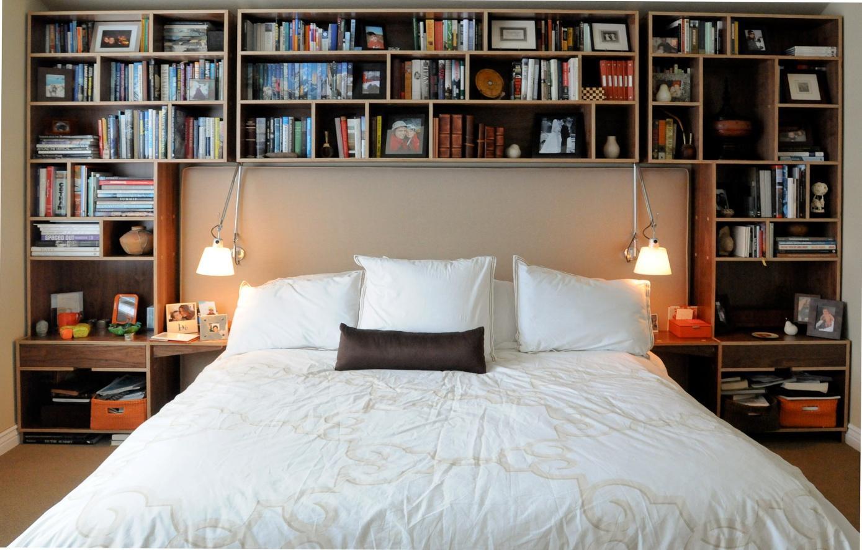 Bedroom with Bookshelf - Taskmasters