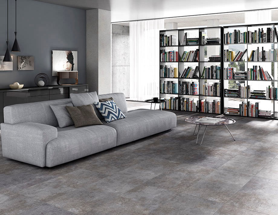 Concrete tiles flooring - Task Masters Dubai