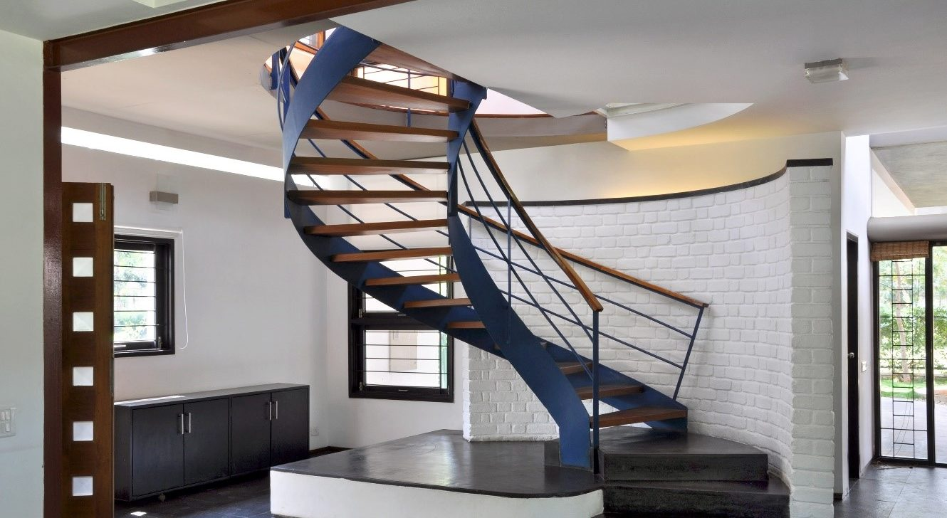 Staircase with spiral design - Task Masters, Dubai