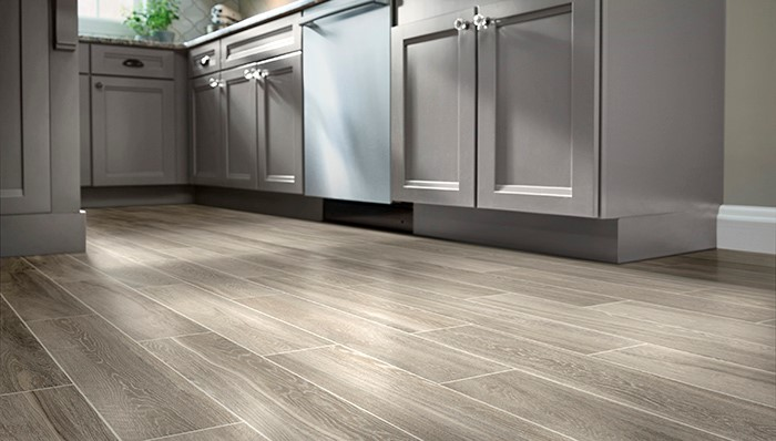 Wood like tile flooring - Task Masters