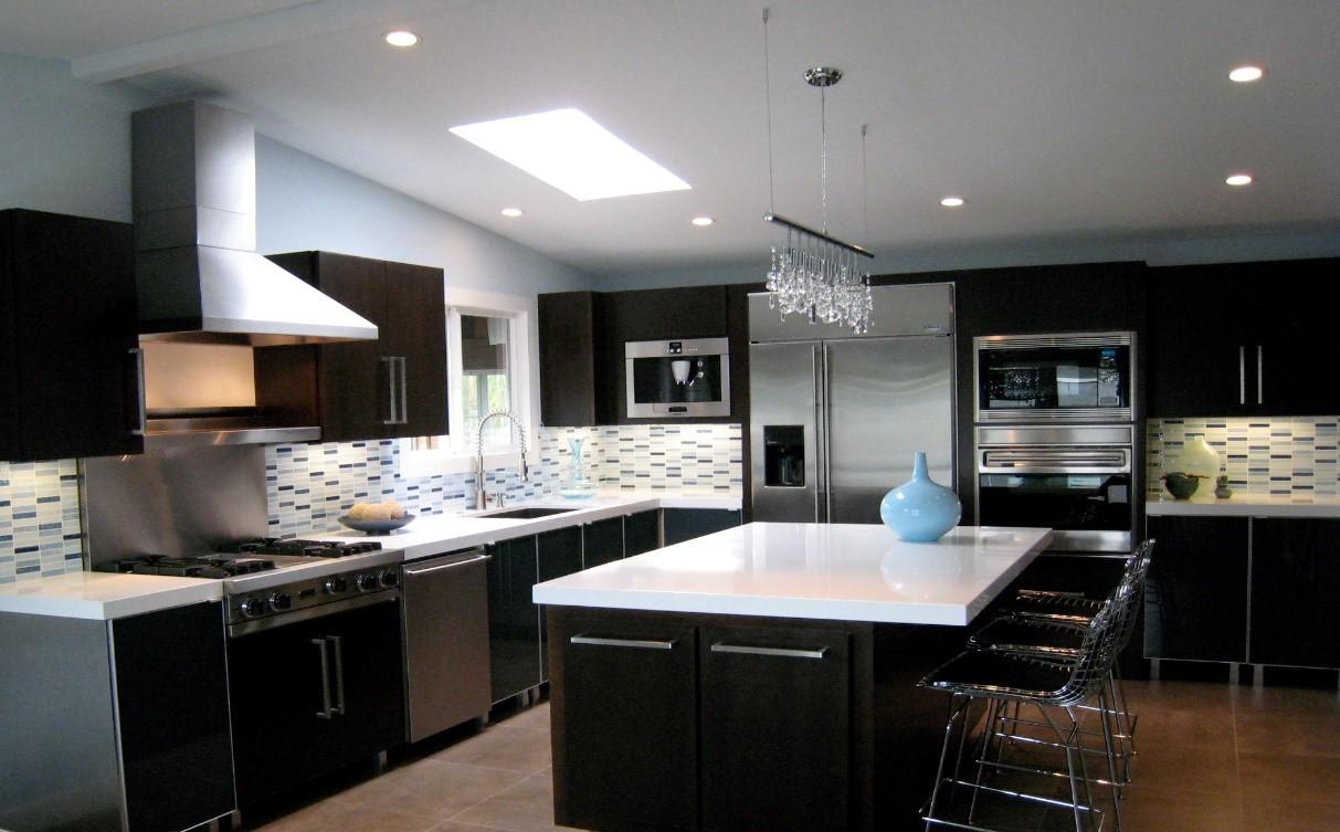 Spot Lights in Kitchen - Taskmasters