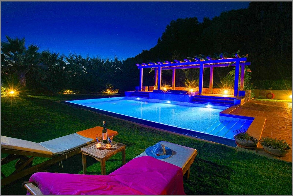 Led Lighting in Pool - Task Masters, Dubai