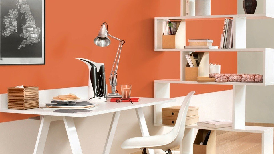 home workspace with bright colour - Taskmasters, Dubai