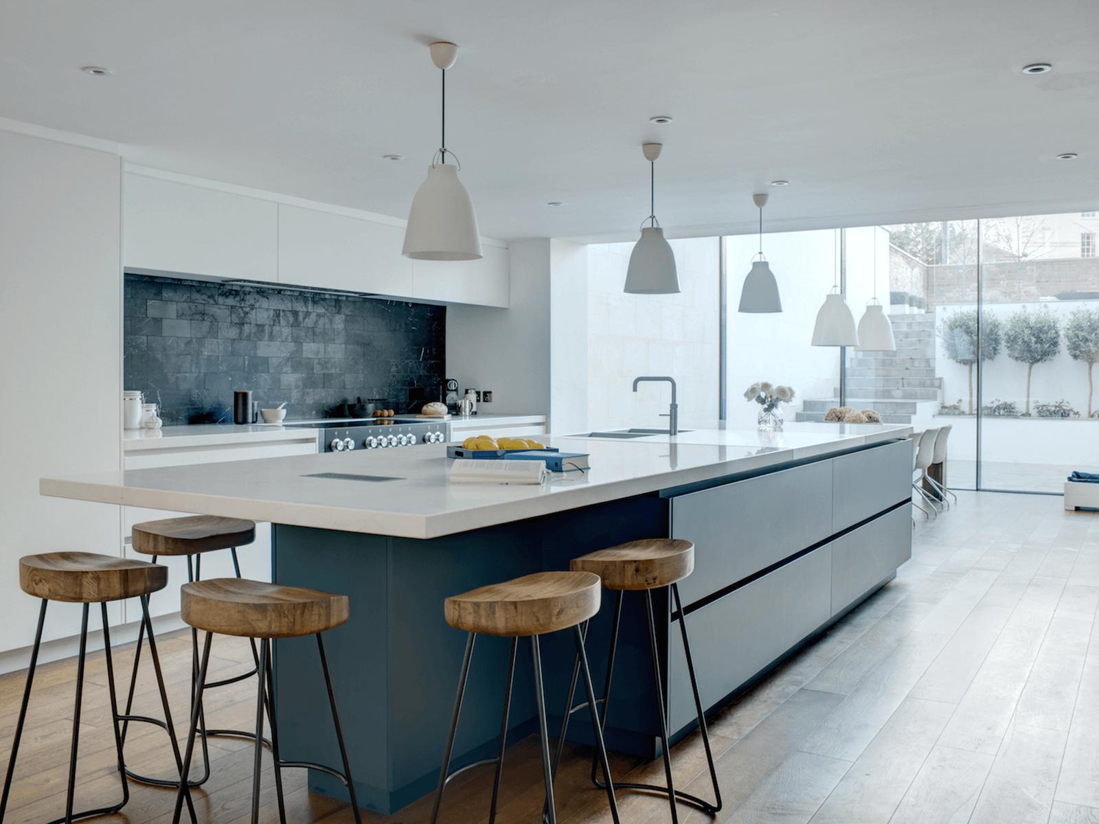 seating around kitchen Island - Task Masters, Dubai