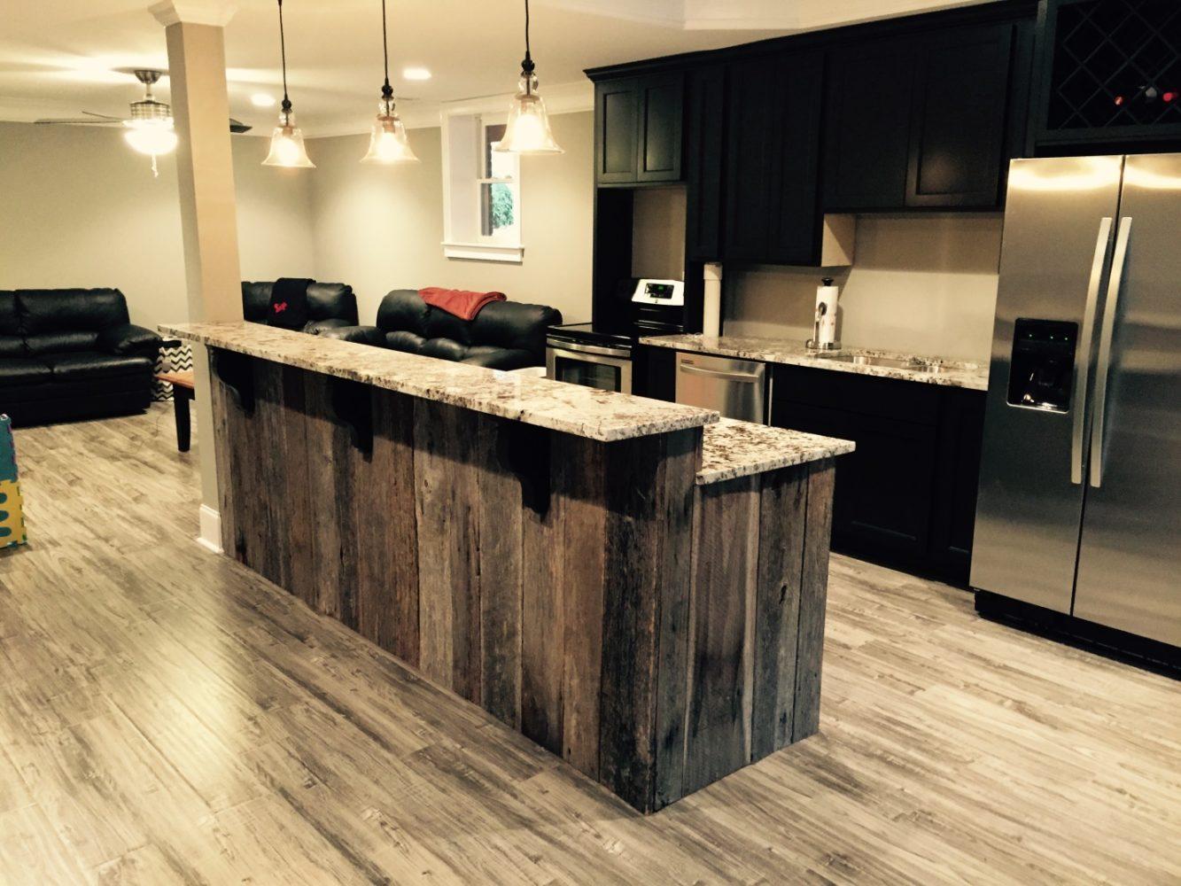 wooden kitchen Island - Task Masters, Dubai